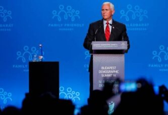 Pence hopeful the Supreme Court will restrict abortion in US