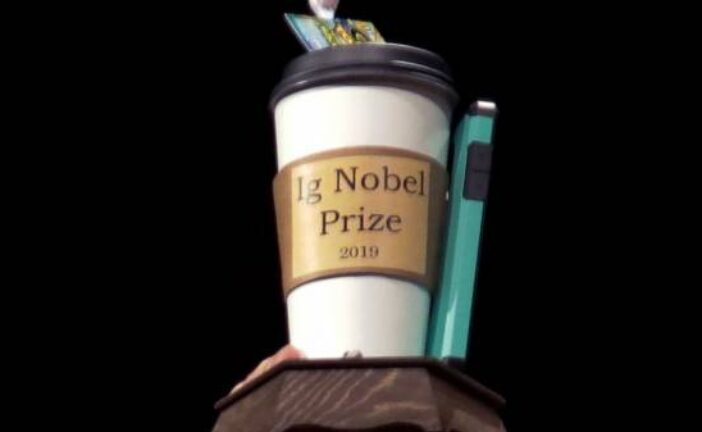 Research on beards, wads of gum wins 2021 Ig Nobel prizes