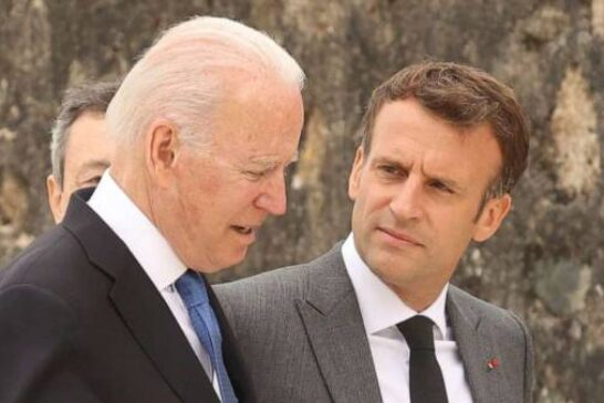 Biden agrees with France's Macron that sub snub could have been handled better