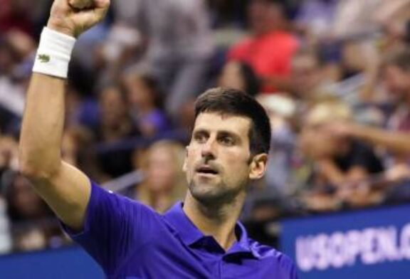 Novak Djokovic comes back from a set behind to see off Jenson Brooksby
