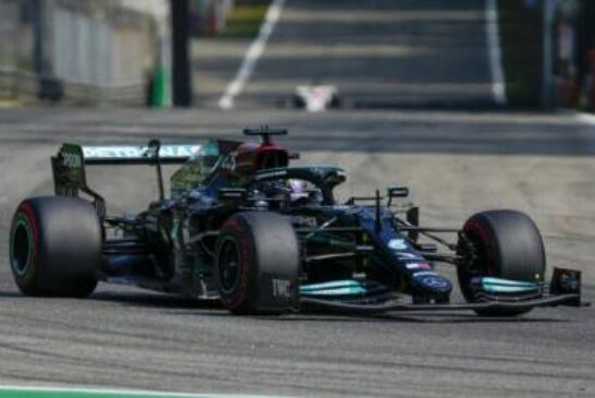 Lewis Hamilton suffers title setback with fifth place in Monza sprint race