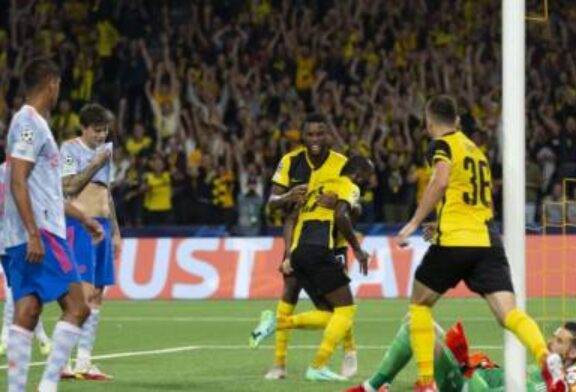 Young Boys stun Manchester United at the death