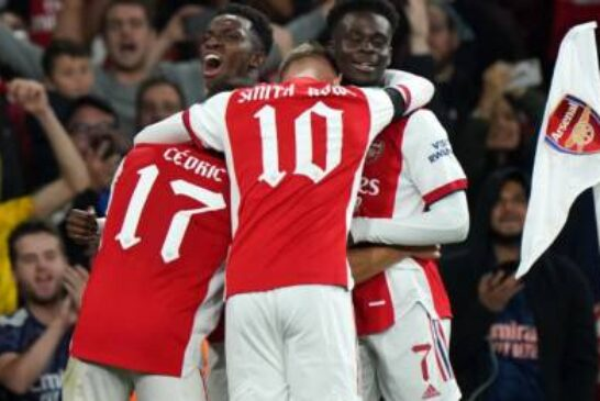 Arsenal add late gloss to routine win over battling AFC Wimbledon